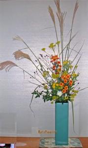 秋の七草のアレンジ