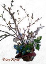 吉野桜のギフトアレンジ