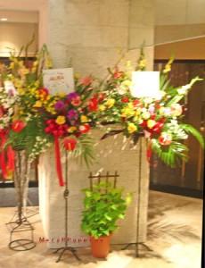 スタンド装花