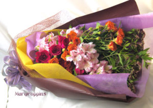 藤袴の花束